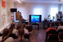 Школьники на программе о блокадном Ленинграде_3