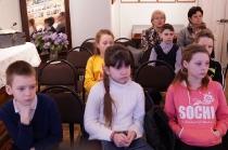 Школьники на программе о блокадном Ленинграде_5