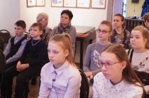 Школьники на программе о блокадном Ленинграде_6