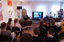 Школьники на программе о блокадном Ленинграде_7