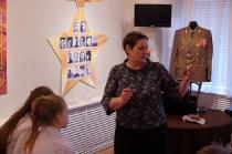 Школьники на программе о блокадном Ленинграде_9