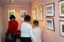 Открытие выставки к 35-летию Некрасовской детской художественной школы им. И. М. Асташкина