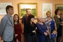 Открытие выставки к 85-летию И. М. Асташкина_10