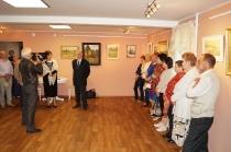 Открытие выставки к 85-летию И. М. Асташкина_15