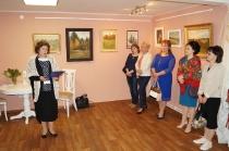 Открытие выставки к 85-летию И. М. Асташкина_2