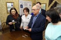 Гашение почтовой продукции к 150-летию С. А. Виноградова_16