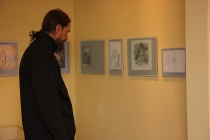 Открытие выставки рисунков братьев Сорокиных_3