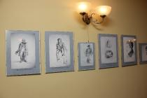 Открытие выставки рисунков братьев Сорокиных_6