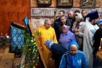 Прибытие образа и частицы мощей Святого Благоверного князя Александра Невского в Некрасовское_23 мая 2015